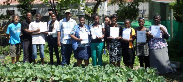 Certificates in urban agriculture